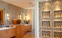 Serenity Now: Rich Materials Transform This Master Bath into a Desert Oasis