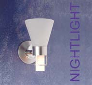 Nightlight only lit