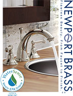 Newport Brass Watersense Products